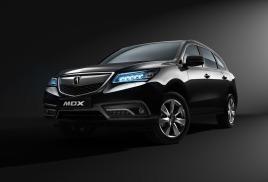 В России начинаются продажи обновленного кроссовера Acura